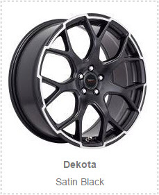 Dekota - Satin Black -