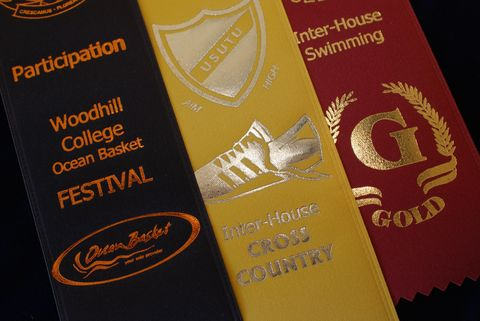 Foil printed Award Ribbons