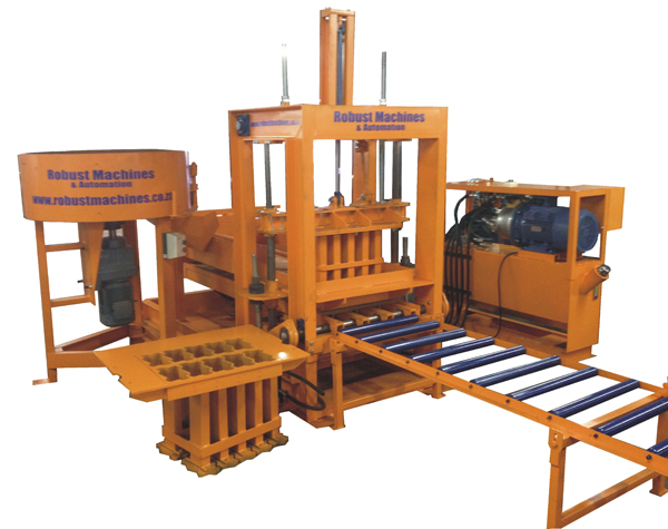 Brick and block making machine static brick machine robust 14hydraulic brick and block making machine