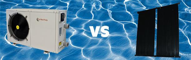 Heat pump vs solar panel swimming pool contractors in - Swimming pool heat pump vs gas heater ...