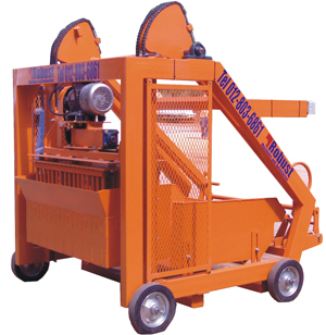 Brick and block making machine electric brick machine robust EL de Lux brick and block making machine
