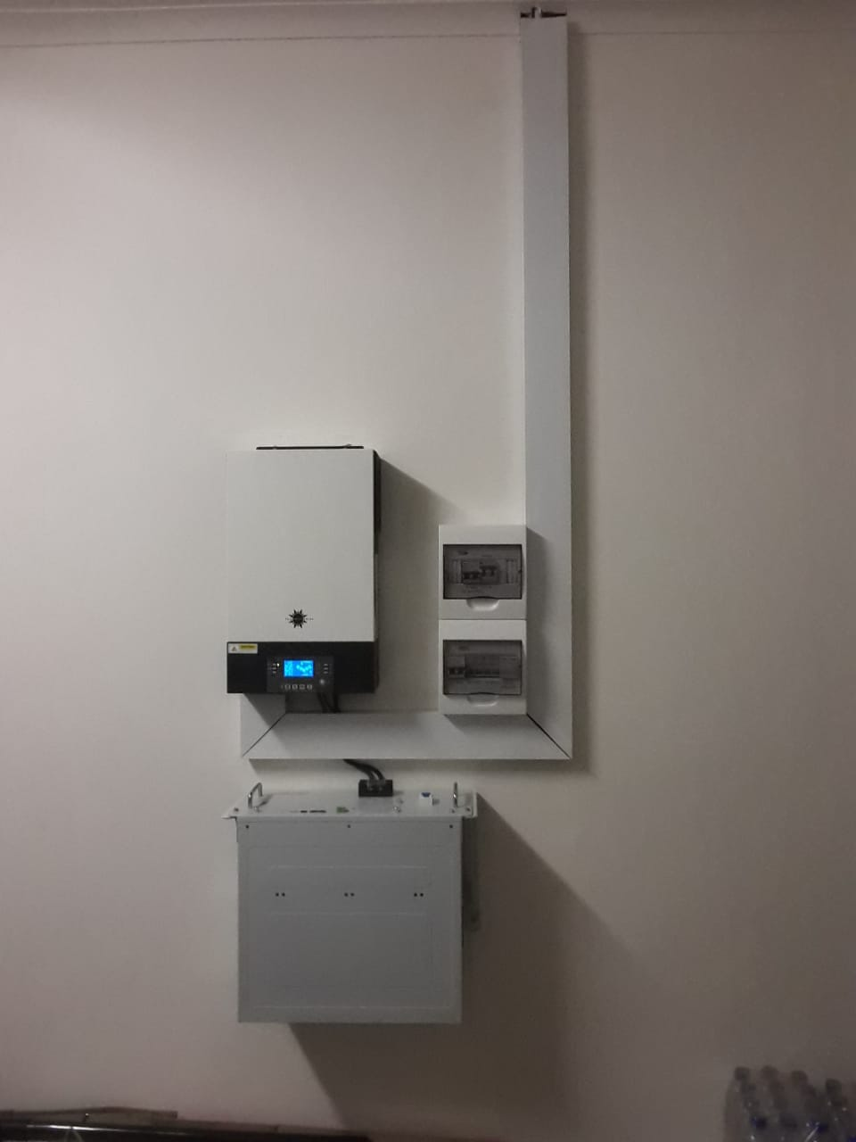 5kw with li-ion battery & 12x 360w panels
